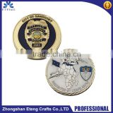 Wholesale custom plated challenge coin