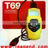 Original Factory - T69 Auto Car Highend OBDII Diagnostic Scanner Tool (Functional, Multi-Language, Yellow, DIY)