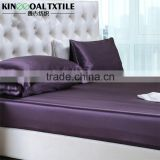 Wholesale High Quality 100% Silk Fitted Sheet Car King Elastic Around Silk Bed Lined                                                                         Quality Choice