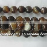 Fantasy Agate faceted round beads
