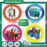 Hot Wax Crayon Making Machine/Rectangulat Duct Forming Machine/Wax Crayon Shaping And Wrapping Machine