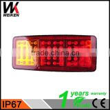 WEIKEN Auto spare parts Led truck tail light Auto TailLight Car Tail Lights LED Rear Lights