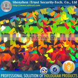 Laser packing material stretch printied film