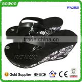 Fashionable high heel Slippers Good Quality Wedged Women High Platform Flip Flops