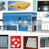 Full autoamtic PS/PET/PVC/HIPS and so on lunch box, tray and container vacuum forming machine