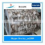 BRICK06 pre-painted brick grain ppgi steel coils/design ppgi used in building material,roof panel,decoration not made in Shandon