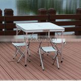 Portable Table And Chair Aluminum Alloy Table Chair Sets Folding Picnic Table And Chairs                                                                         Quality Choice