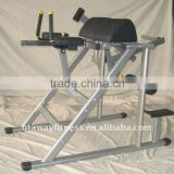 commercial fitness equipment body building machine/ reverse Hyper extention/rugby team training sled machine