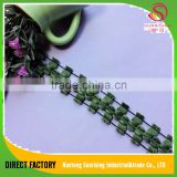 [NTSUNRISING]good price 2.5CM polyester decorative cord tassel string for dress,curtain,hometextile,decaration,