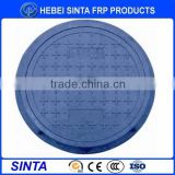 2016 made in china high quality smc resin hinged manhole cover
