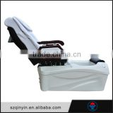 Equipped 3 function adjust CE certificate fabric glass basin pacific spa chair remote control