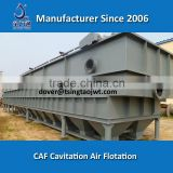 Water oil separation cavitation air flotation for electronics production wastewater treatment