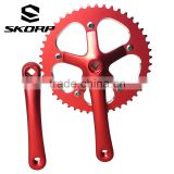 Track Bicycle Crankset Aluminum Alloy Bike Chainwheel And Crank