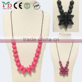 China Manufacturer BPA Free Food Grade Silicone Beads and Jewelry Making/Women Jewelry