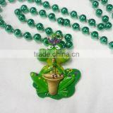 Mardi Gras Beads Poly Beads Necklace Wholesale Round Beads