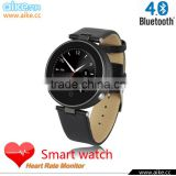 IOS & Android Bluetooth 4.0 Round Smart Watch S365 with SOS/G-sensor/Voice/Speaker for apple iphone 6 plus/6 Samsung S6 edge/S5                                                                         Quality Choice