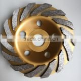 "5"" inch Grinding Wheel with skewed teeth for granite, marble and concrete,masonry materials                                                                         Quality Choice"
