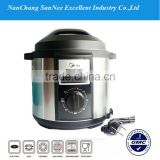 German Stainless Steel Non Stick Coating Instant Pot 1.5 Pressure Cookers