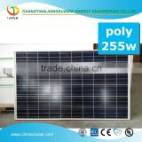 high efficiency best price b grade 255w solar panel
