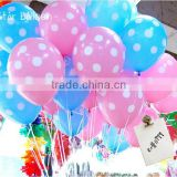 Best quality 12inch Colourful Party Decoration Polka Dot Balloons Latex balloons                                                                         Quality Choice                                                     Most Popular