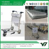 Best Selling High Quality Stainless steel Airport Trolley,airport luggage cart,airport baggage trolley