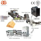 2015 New Arrival Wafer Biscuit Making Machine/63 Moulds Wafer Biscuit Machines Line/Commercial Wafer Making Production Line