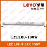 "32"" 180W offroad led lighting bar with deutsh connector IP68 double row 32"" offroad bar"