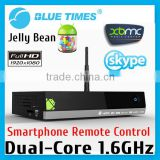 dual core android mini mk809 II PC RK3066 Dual-Core google android tv box with 2.4G Rii i8 wireless keyboard touch pad
