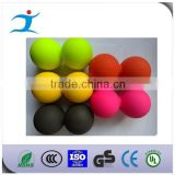 Sports colorful logo engraved lacrosse ball