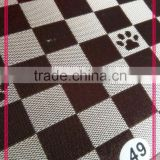 China Manufacturer Eco-friendly PVC Coated waterproof 600D polyester ripstop Oxford fabric in Hanzghou