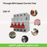 high quality miniature 4 pole breaker/circuit breaker/miniature circuit breaker/ for equipment protection