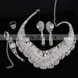 Clear Crystal Avenue Jewelry Set Exquisite Jewelry Sets