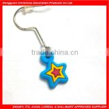 free samples- star design soft pvc ear plugs body jewelry
