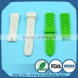 2014 top selling non-toxic custom OEM silicone interchangeable watch strap made in China