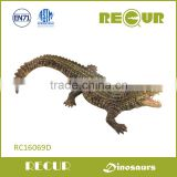 RECUR Educational toy plastic animal model toys soft PVC vinyl animal figure Deinosuchus toys