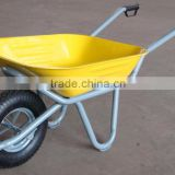 Hot sale durable steel construction WB6400 wheelbarrow ,Construction, garden wheel barrow