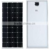 RJ Aluminium alloy Mono Silicon Solar Cells Solar Panel 150W 18v for on grid and off grid solar system