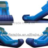 lime blue inflatable water slide for adult