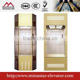 VVVF Passenger Elevator Gearless sightseeing lift commercial building panoramic elevators