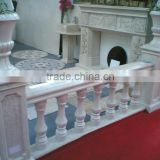 Interior stair railing stone balustrade designs for balcony