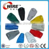 RJ45 connector rubber boot rubber cable boots