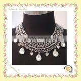 WN150924-4 Yiwu Adore Wholesale Fashion Tear Drop Necklace, Water Drop Necklace, Antique Silver Jewellery