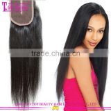 Wholesale low price new arrival human hair 4x4 lace front closure weaves