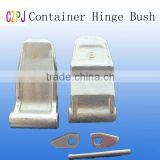 container door locking hinge pins