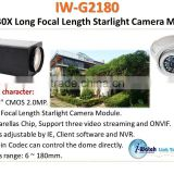 IW-G2180 1080P IP Camera 30X Optical Box Zoom Module