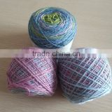High Quality Hand Knitting Dyed Wool Yarn