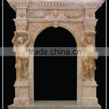 Cheapest Marble Door Surround With Statues