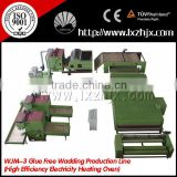 New Popular Glue free Wadding Production Line with natural gas Heating Oven WJM-3
