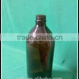 700 ml amber Boston Rounds for essential oil