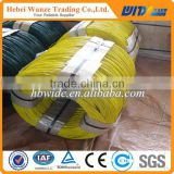 2016 Cheap PVC cable wire / colored PVC coated wire / Plastic coated iron wire (FACTORY MANUFACTURER)